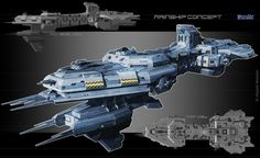 Mainship_concept_ver.2 by Obey-art.deviantart.com on @deviantART