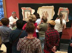 Fresco will make you a better artist.  Buon #frescopainting workshop at the #Getty Villa - February 20 & 27 #frescoschool #iliafresco #frescoworkshop #frescotechnique #frescoart