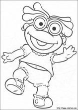 Muppet Babies coloring pages on Coloring-Book.info