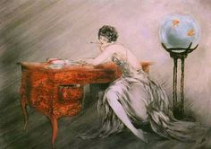 Icart, Louis (b,1888)- Recollections, 1928