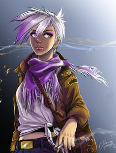 I love this humanisation of everyone's favourite bad-tempered griffon, Gilda.