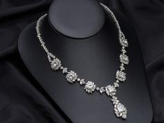 18K MOISSANITE ELITE NECKLACE 41 CTWS.
