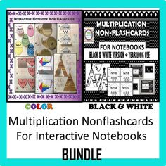 """Great activity for ending or starting the school year. Make this before the kids leave for the summer...then send it home for summer practice. """"Flashcards"""" stay in one place-the notebook. Easy to find, hard to lose, fun to practice."""