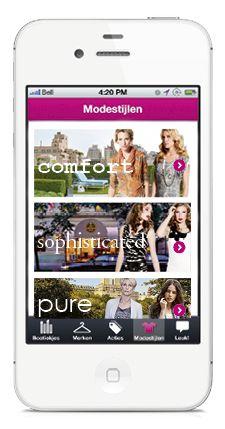 "Fashion shopaholic?     Ook jij wordt verrast als je leuke boetiekjes zoekt via ""Modestijlen"" in de app Leukeboetiekjes!    http://www.leukeboetiekjes"