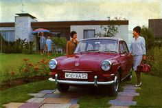 VW Variant 1500S Press Photo