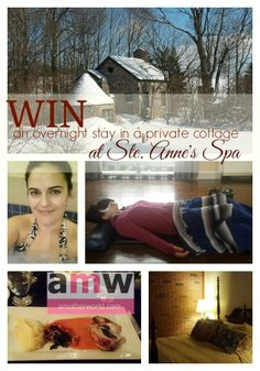 Win a Stay at Ste. Annes Spa on amotherworld