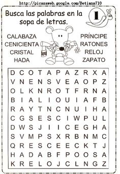 cenicienta Spanish Lessons For Kids, Teaching Spanish, Letter Worksheets, Worksheets For Kids, Spanish Immersion, Teaching Materials, Speech And Language, Homeschool, Letters