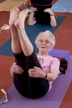Picture: Lorne Campbell  celebrated her 100th birthday at the weekend (20 February). She attends a weekly Yoga class in nearby, Shipley. WORDS BY GUZELIAN A 100-year-old great grandmother is still a picture of health thanks to over 30 years of dedication to yoga. Jean Dawson, from Cottingley, West Yorkshire, has been bended and twisting her body almost every single week for the past three decades. ìI must have good genes,...