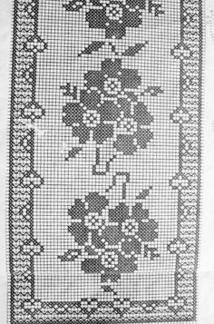 l ufer eckig h keln crochet crochet diverses. Black Bedroom Furniture Sets. Home Design Ideas