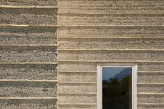 Haus Rauch   Lehm Ton Erde, Martin Rauch, Vorarlberg, rammed earth