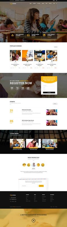 Education : WordPress Theme | Education WP