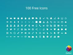You can download the file from here :  100 Free Icons   Free for personal and commercial use   Enjoy :)