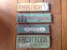 Choose the perfect sign for your chicken coop henhouse by acloud, $17.00