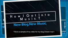 How I Got Into Music New Lyrics Blog