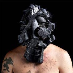 Brazilian artist Edu Monteiro's 'Sensorial Self-Portraits' features him wearing very disturbing masks