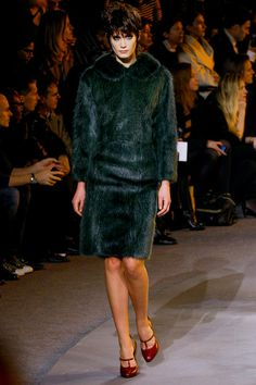 I believe Marc Jacobs took fur wear to the next level Fall 2013 #nyfw