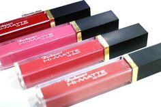 Purbasari Hi-Matte Lip Cream colors - #purbasari #himattelipcream #purbasarihimattelipcream #lipcreampurbasari