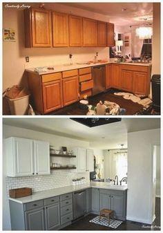 New Kitchen Cabinets, Old Kitchen, Updated Kitchen, Kitchen Countertops, Soapstone Kitchen, Kitchen Updates, Laminate Countertops, Smart Kitchen, Kitchen Modern