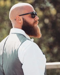 Well here are some Irresistible Bald Men with Beard. These are some Beard Styles with Shaved Head that you can try. Bald Head With Beard, Bald Men With Beards, Great Beards, Beard Love, Awesome Beards, Beard Bald, Red Beard, Ginger Beard, Beard And Mustache Styles