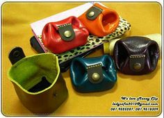 coin purse leather handmade