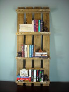 Pallet Shelf / Photo Shelf / Wine Shelf / Book by MyBrothersBarn, $40.00