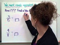 Comparing Fractions-Christine Munafo's Flipped Classroom-4th grade STEM