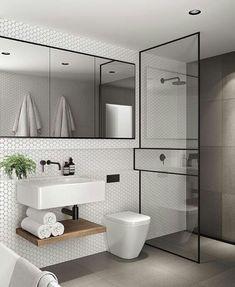 Azt mondta, ő var bare skikkelig kult!  😍 Bathroomspo! 🖤 📷: @ 360buro ------------------------------------------ ---> #notmypic #inspo #mywestwingstyle #solebich #connox #beunique #wohnraumliebe #momentofslowliving #whiteliving # norgesinteriør # rom123 #lovethis #bathroom #bathroominspo #home #scandicliving #inspirationsundaysol