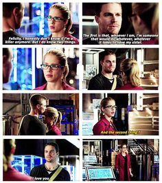 Arrow - Felicity and Oliver #3.9 #Season3 #Olicity <3