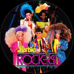 Now this is how you rock it, 80's style! Derek was my first man barbie. Now Barbie had someone to kiss!