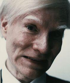 "Andy Warhol, ""Self-Portrait""  NYC New York City"