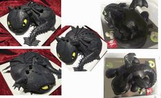 How to make a Toothless Dragon Cake