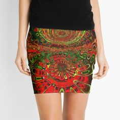Knitted Fabric, Chiffon Tops, Boho Shorts, Digital Art, Mini Skirts, Printed, Awesome, Accessories, Products