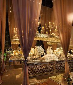 Decoração de casamento: branco + transparência - Constance Zahn | Casamentos