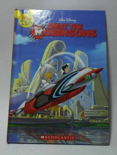 Disney Wonderful World of Reading - Meet The Robinsons (Hardcover Book)