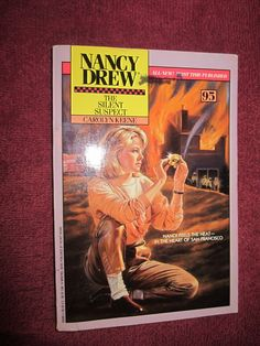 The Silent Suspect by Carolyn Keene - Nancy Drew # 95 - 1990 ~~ For Sale At Wenzel Thrifty Nickel eCRATER store