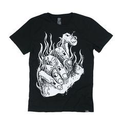 T-shirt Six Fingers by YONIL | Shop on: https://grafitee.us/s/t-shirts/213-t-shirt-six-fingers.html | #tshirt #fashion #clothing #apparel #grafitee #shopindie