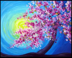 paint and sip cherry blossoms - Google Search