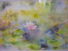 Lotus Flower Watercolor