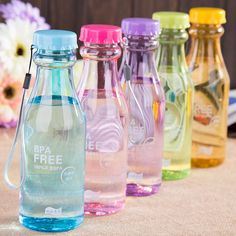 Cheap unbreakable water bottle, Buy Quality bpa free directly from China sport bottle Suppliers: BPA Free Leak-proof Unbreakable Water Bottle Kettle With Lid Frosted Camping Outdoor Biking Sport bottles School Water Bottles, Cute Water Bottles, Bpa Free Water Bottles, Glass Water Bottle, Plastic Bottles, Drink Bottles, Kinra Girl, Childrens Lunch Bags, Drinking Water Bottle