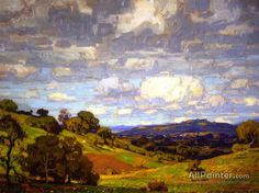 California Landscape Artwork By William Wendt Oil Painting & Art Prints On Canvas For Sale Paintings I Love, Oil Paintings, Painting Frames, California Art, Landscape Artwork, Impressionist Art, Oil Painting Reproductions, Traditional Paintings, Painting Inspiration