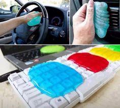 Magic cleaning gel  via ifunny