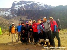 How do you organize a charity climb for Kilimanjaro? Ask the Lucky 13 as they checked us our at www.privateexpeditions.com before they climbed!