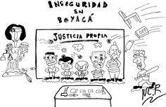 Caricatura | Inseguridad en Boyacá