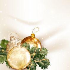 Golden Christmas balls 2014 background vector 05