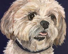 Shih Tzu arte Print  la vida es buena  perro Arte Pop