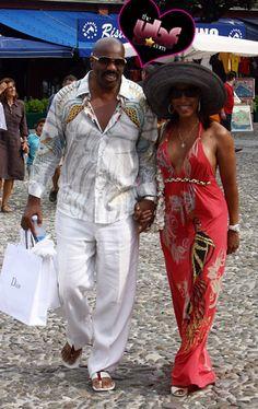 Steve Harvey & Wife Vacay In Italy Black Celebrities, Celebs, Steve Harvey Family, Majorie Harvey, Celebrity Couples, Celebrity Style, Cruise Fashion, Luxury Lifestyle Fashion, Vintage Black Glamour