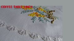coffee table linen