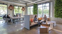Sometimes working off-site is more trouble than it's worth. By providing well-equipped third spaces, such as this lounge featuring theLagunitas Lounge Systemand theSebastopol Table, businesses are encouraging employees to stay on campus, where connectivity is strong and spaces are tailored for mobile workers. Design by Hollander Design Group. Photography by Jasper Sanidad. See more photos from this BKM space onOffice Snapshots.