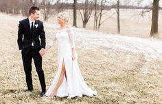 An Elegant Barn Wedding at IronGate Equestrian Center in Hartford, Ohio