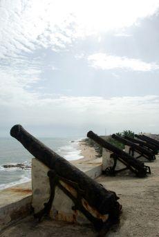 old guns Cape Coast Castle